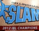 bellingham slam ibl logo basketball