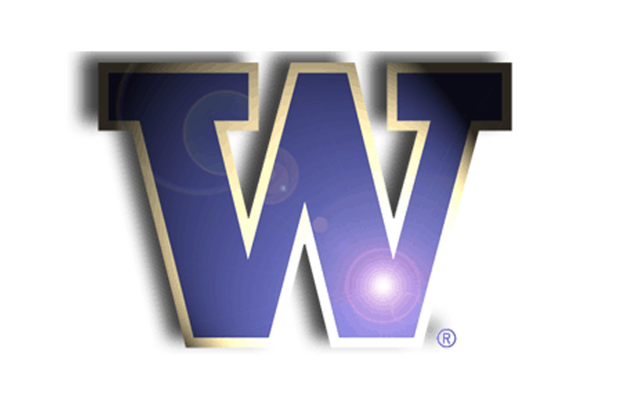 huskies university of washington uw pac 12 college logo