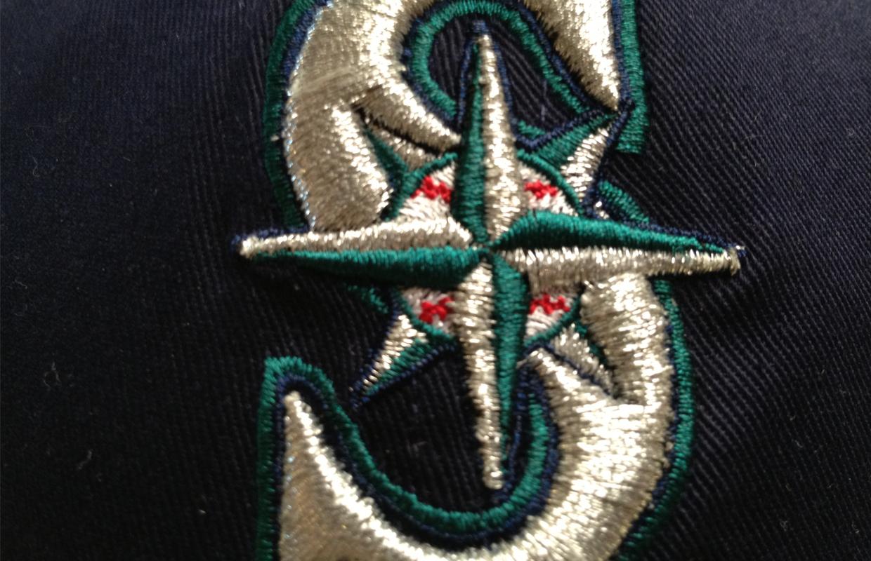seattle mariners logo hat mlb