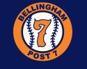bellingham post 7 baseball logo 1