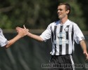 bellingham united players high five