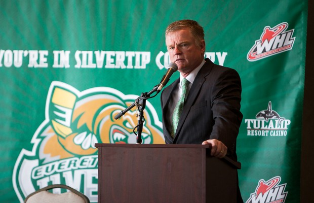 Kevin Constantine returns to coach Silvertips