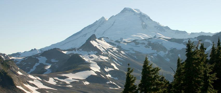 Avalanche danger high on Mt. Baker, Cascades