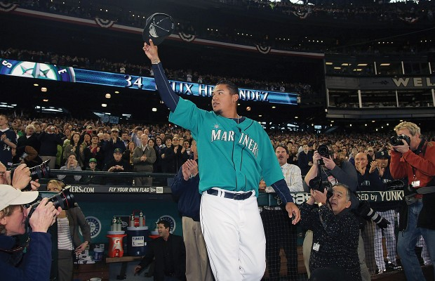 King Felix named AL Pitcher of the Month