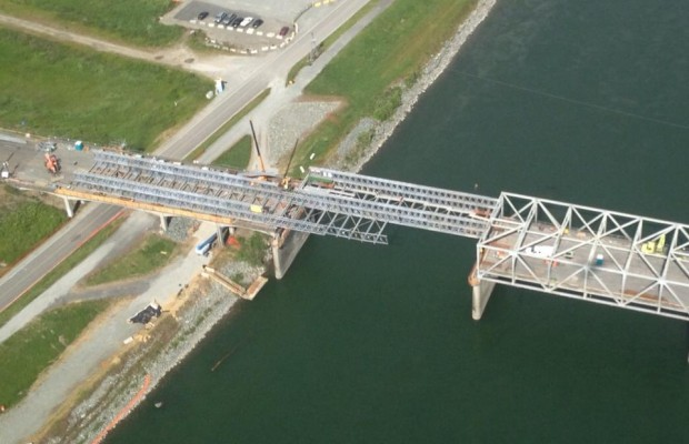 Temporary Skagit River bridge could open this week