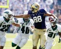uw univeristy of washington huskies 88 asj austin seferian-jenkins stiff arm