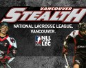 vancouver stealth lacrosse logo with players