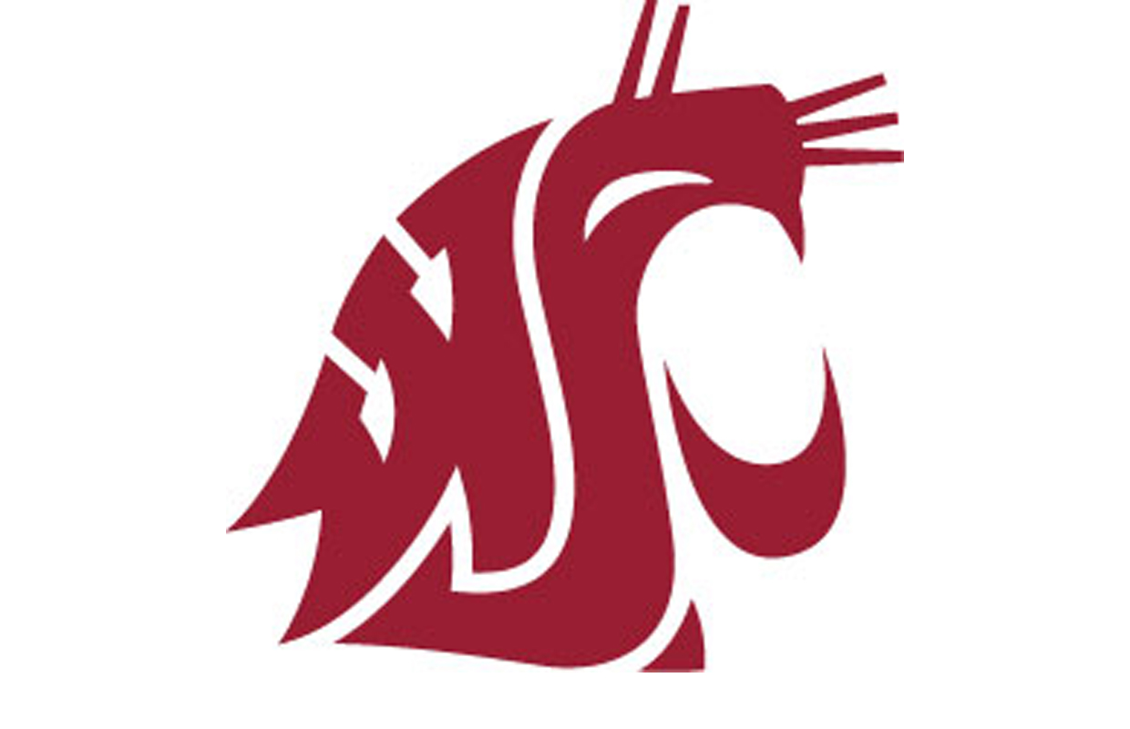 wsu cougars washington state univeristy pac 12 football logo