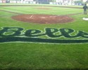 Bells logo on field