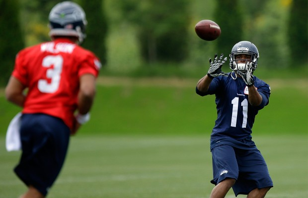 Harvin's hip immediately an issue for Seahawks