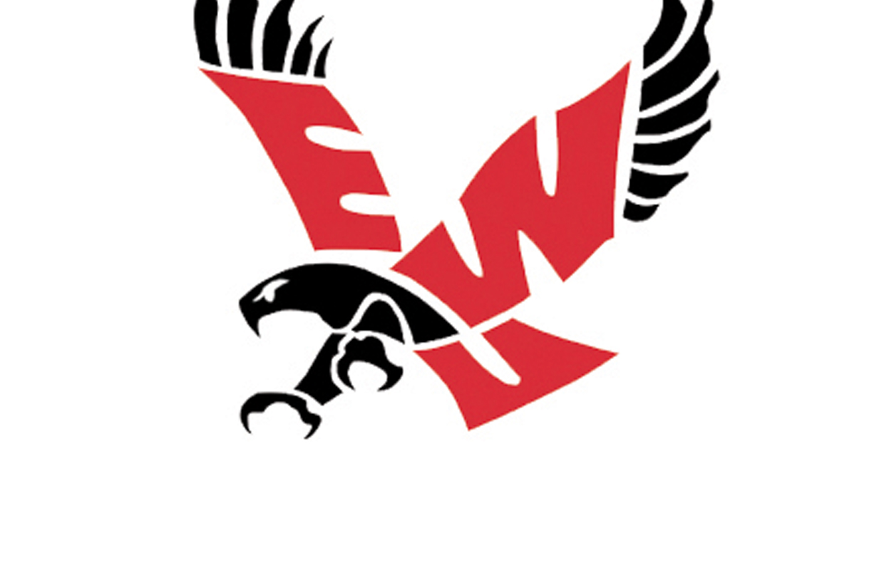 ewu eagles eastern washington university logo on white