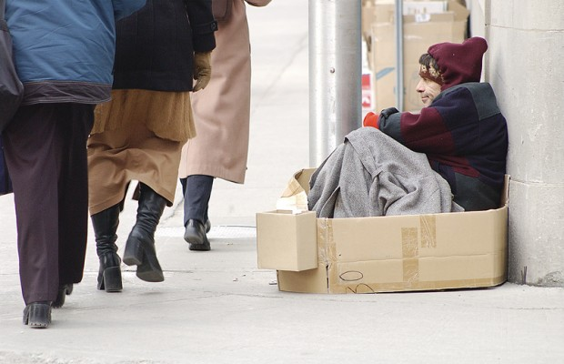 Free services and hand-up for homeless