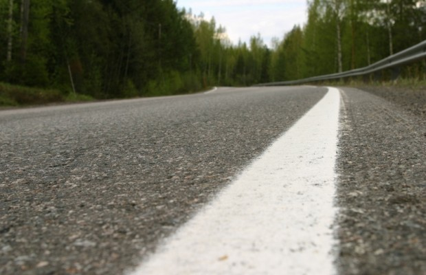 Road striping closes Lake Whatcom Blvd. and Lake Louise Road
