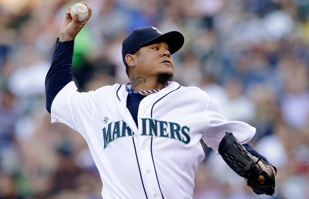 King Felix tosses scoreless inning in MLB All-Star game