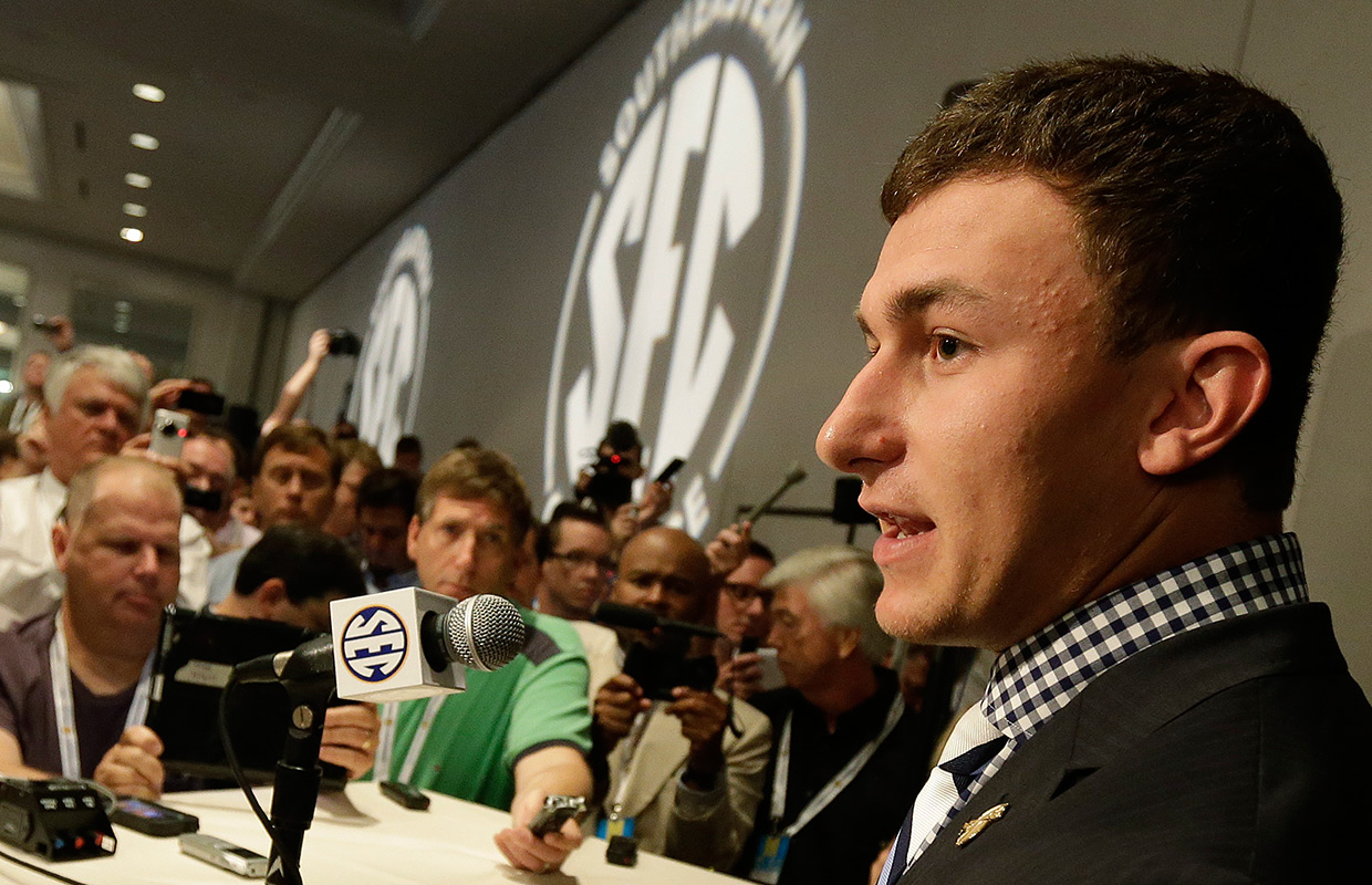 Manziel inks endorsment with Nike