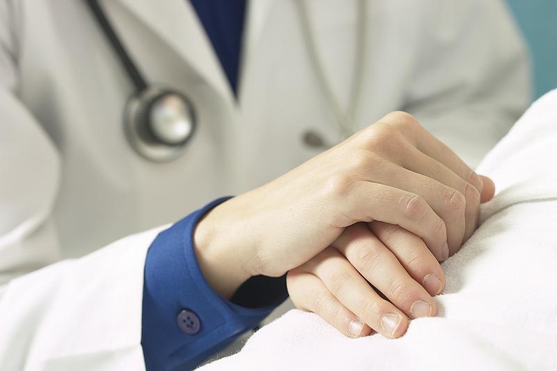 doctors hand