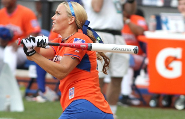 Bash battling to get clinic with Jennie Finch