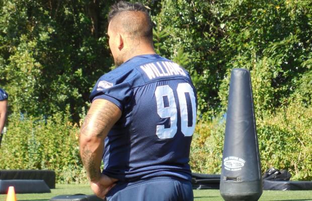 Seahawks place DT Williams on IR