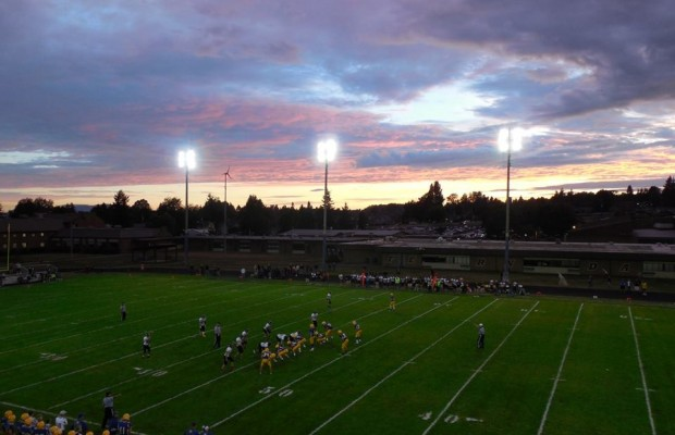 Ferndale vs Blaine Football 1st Half 9/6/13