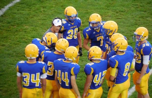 Ferndale vs Blaine Football 2nd Half 9/6/13