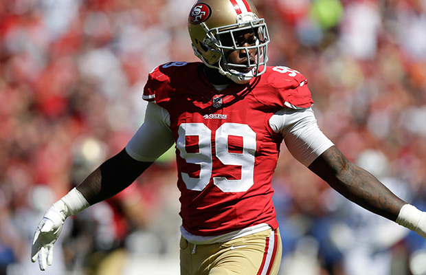 Case of 49ers' Aldon Smith sent to city attorney