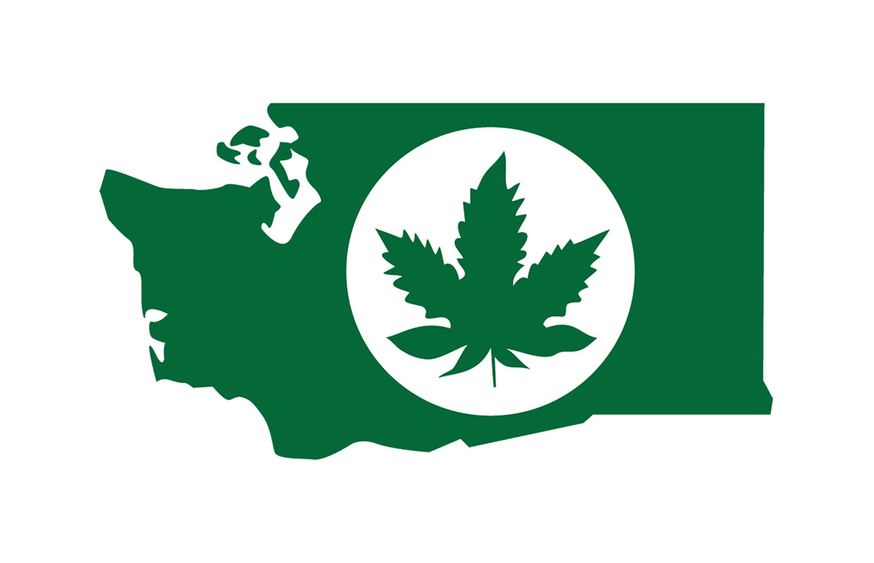 In this graphic provided by the Washington State Liquor Control Board, a logo that will be used for labeling legal marijuana produced in Washington state is shown. Officials released a preliminary draft of regulations for growing and selling legalized marijuana Thursday, May 16, 2013. Voters last November made Washington and Colorado the first states to legalize the sale of taxed marijuana to adults over 21 at state-licensed stores.