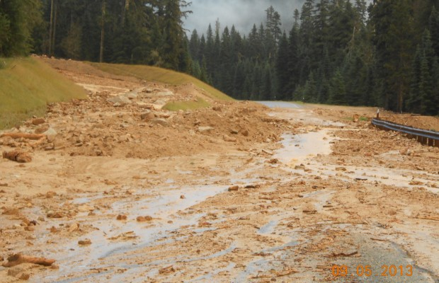Highway 20 at Rainy Pass open again