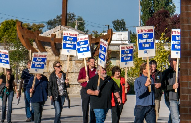 Teachers and BTC in negotiations, strike possible