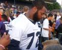 Seattle Seahawks defensive end Michael Bennett