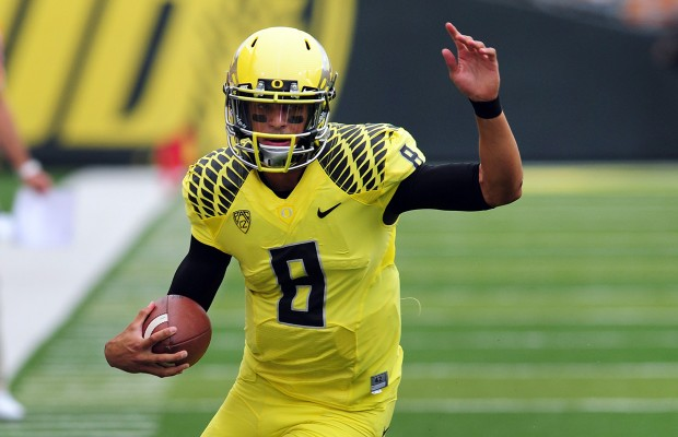 #2 Oregon, Mariota spoil Game Day for #16 Washington