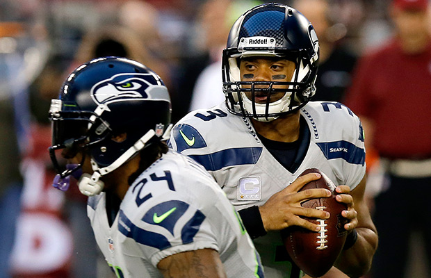 Wilson, Lynch lead Seahawks past Falcons