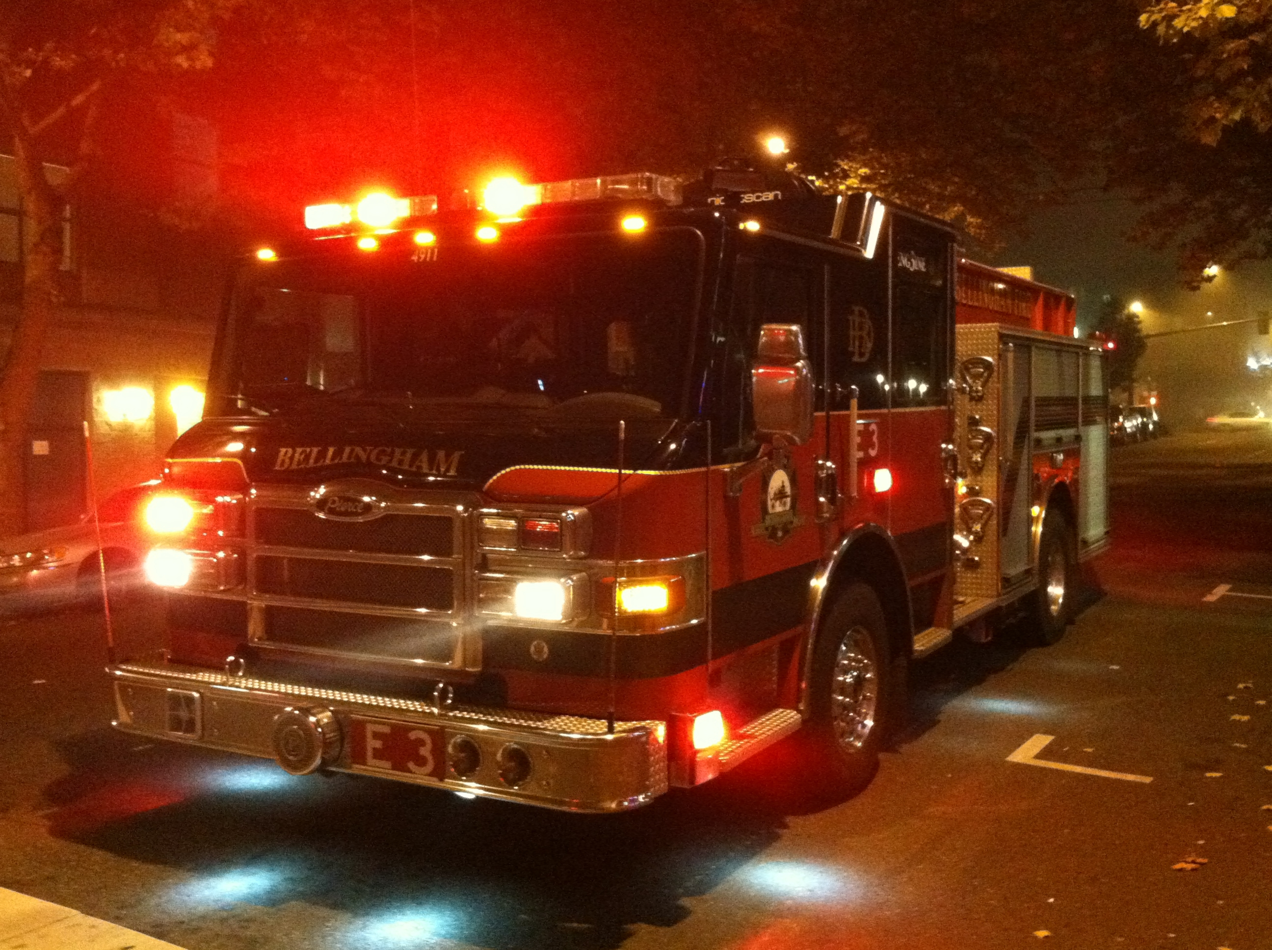 Maple Falls fire appears suspicious