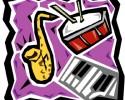 generic jazz graphic