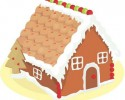 gingerbread house graphic