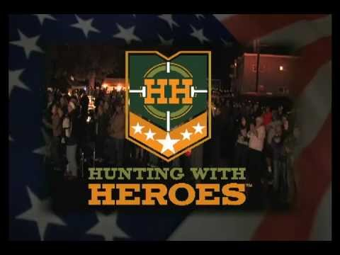 Hunting with Heroes' vets get a hero's welcome