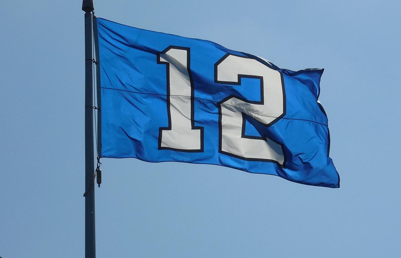 seattle seahawks 12th man flag flying