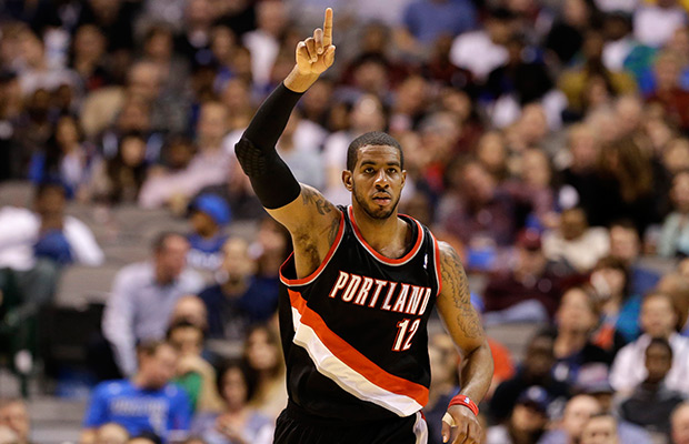 Aldridge leads Blazers past Jazz