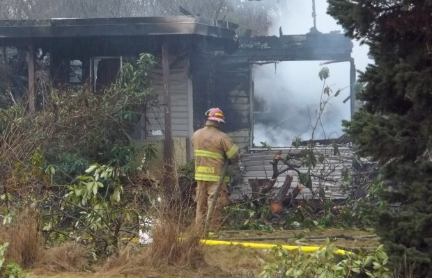 Ferndale fire death investigated as homicide
