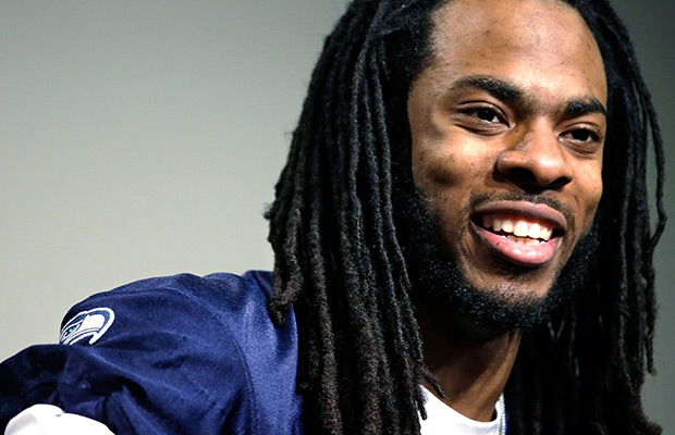 Sherman praises Denver upon arrival at Super Bowl XLVIII