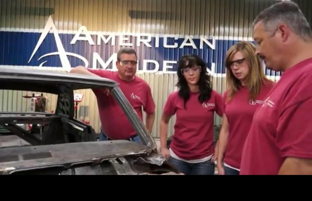 Everson team helps rebuild Chevy in YouTube series