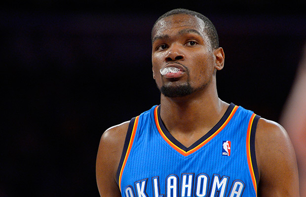 Durant scores 51, Westbrook injured; Thunder top Raptors in 2 OTs