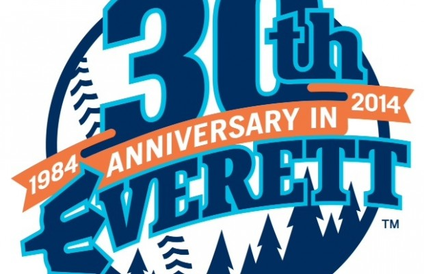AquaSox Release Logo Celebrating 30th Anniversary in Everett