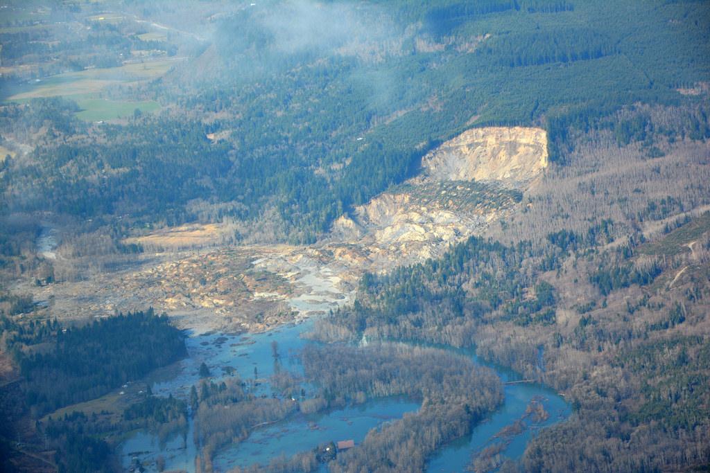 No national system to track landslide hazards