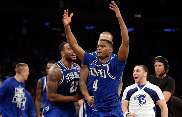 No. 3 Villanova beaten at buzzer by Seton Hall