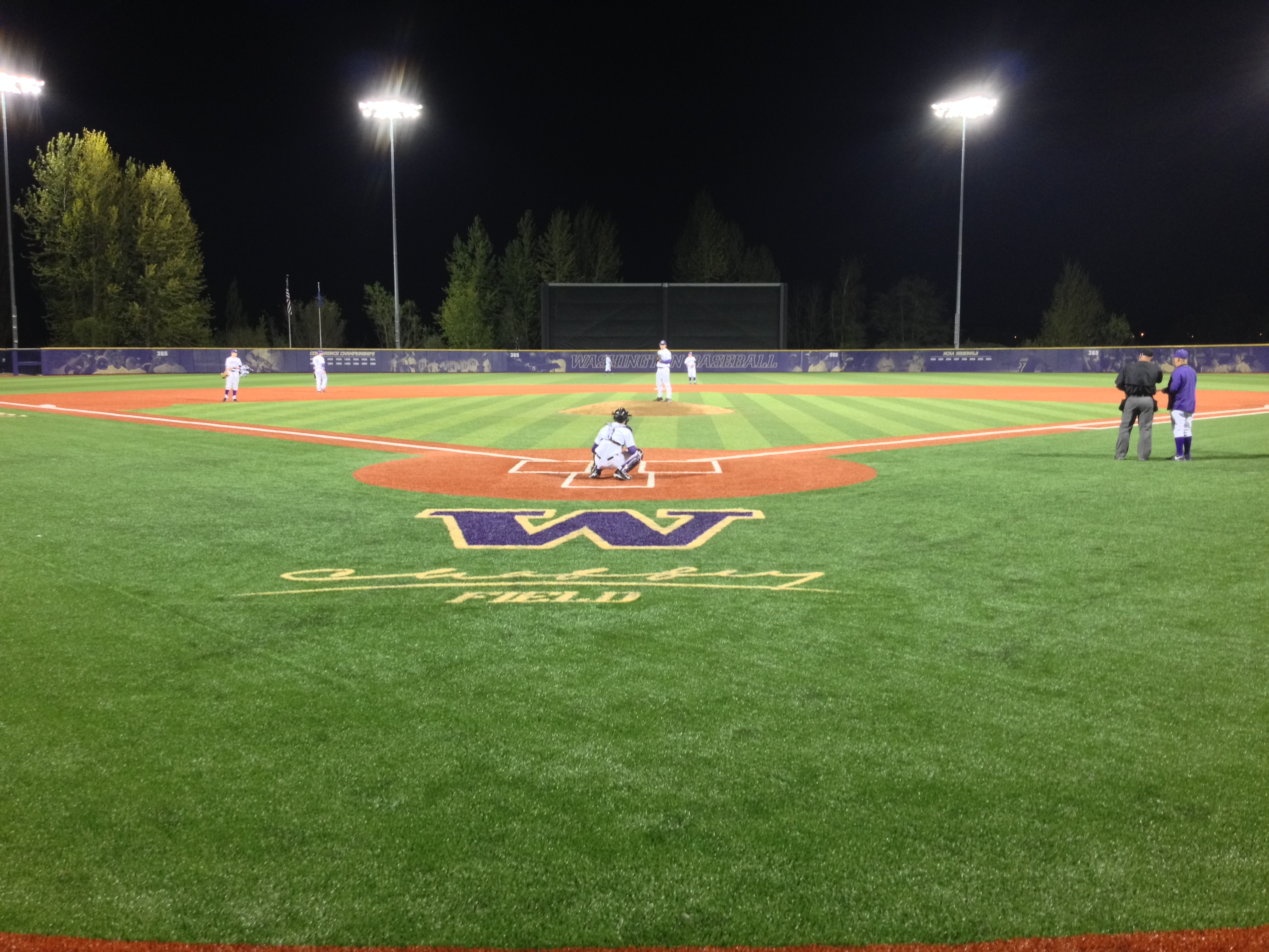 Chaffey Field at Husky Ballpark