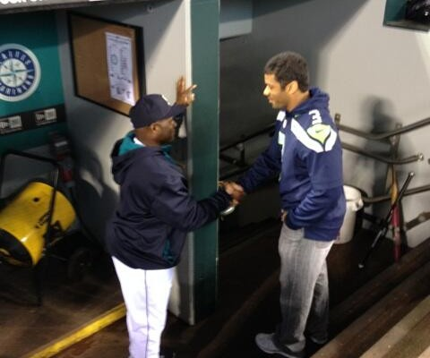 Seahawks honored as part of Mariners home opener