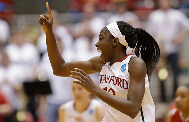Sun take Ogwumike with top pick in WNBA draft