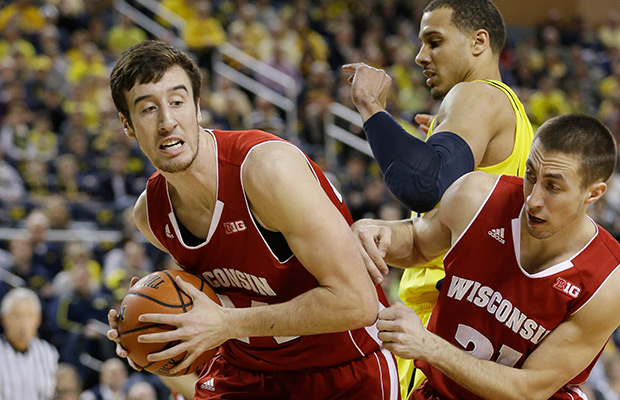 Guards help guide Kaminsky & Wisconsin to Final Four