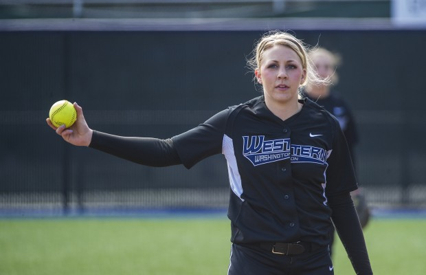 WWU moves into first-place tie with sweep at Western Oregon