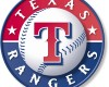 Texas Rangers logo. Courtesy of Major League Baseball and the Seattle Mariners
